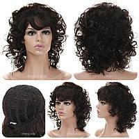 Кудрявый парик Melinda AT термоволосы 180 цвет шоколадный