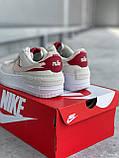 """Жіночі кросівки Nike Air Force """"Jester Light Bone"""", фото 7"""