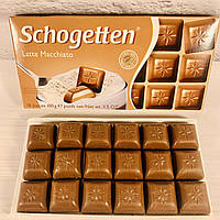 Шоколад Schogetten  Latte Macchiato (латте макиято) Германия 100г, фото 1