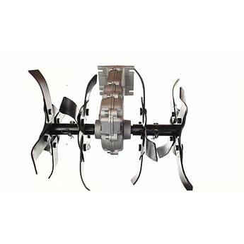 Насадка на мотокосу (культиватор, Вал 7 Шлицов, Диаметр Штанги 28мм, mod 2) EVO
