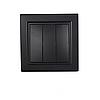 ElectroHouse Выключатель тройной Безупречный графит Enzo IP22