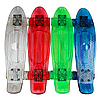 Скейтборд детский прозрачный PU свет BT-YSB-0051 от 3 лет