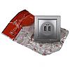 ElectroHouse Розетка USB (2 порта) Серебряный камень Enzo 2A IP22