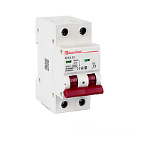 ElectroHouse Автоматический выключатель 2P 20А  4,5kA 230-400V IP20