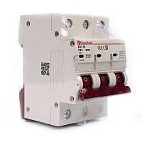 ElectroHouse Автоматический выключатель 3P 25A 4,5kA 230-400V IP20