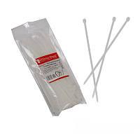 ElectroHouse Стяжка кабельная белая 5x200