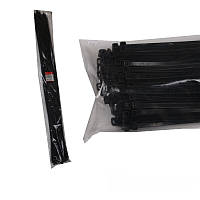 ElectroHouse Стяжка кабельная чёрная 9x1220