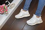 Кроссовки женские белые Т1032, фото 3