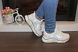 Кроссовки женские белые Т1032, фото 5
