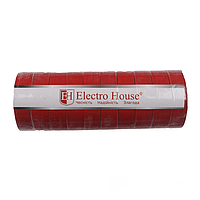 ElectroHouse Изолента красная 0,15мм х 18мм х 11м