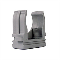 ElectroHouse Крепеж для гофротрубы Ø 16 мм, Ø отв. 5 мм, цвет серый 100шт.