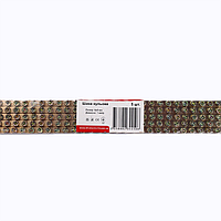 ElectroHouse Шина нулевая 6х9 1 метр 100A