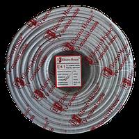 ElectroHouse Телевизионный (коаксиальный) кабель RG-6U CCS 1,02 Al  белый ПВХ