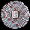 ElectroHouse Телевизионный (коаксиальный) кабель  RG-6U CCS 1,02 Cu белый ПВХ