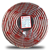 ElectroHouse Телевизионный (коаксиальный) кабель RG-6U CCS 1,02 Cu силикон
