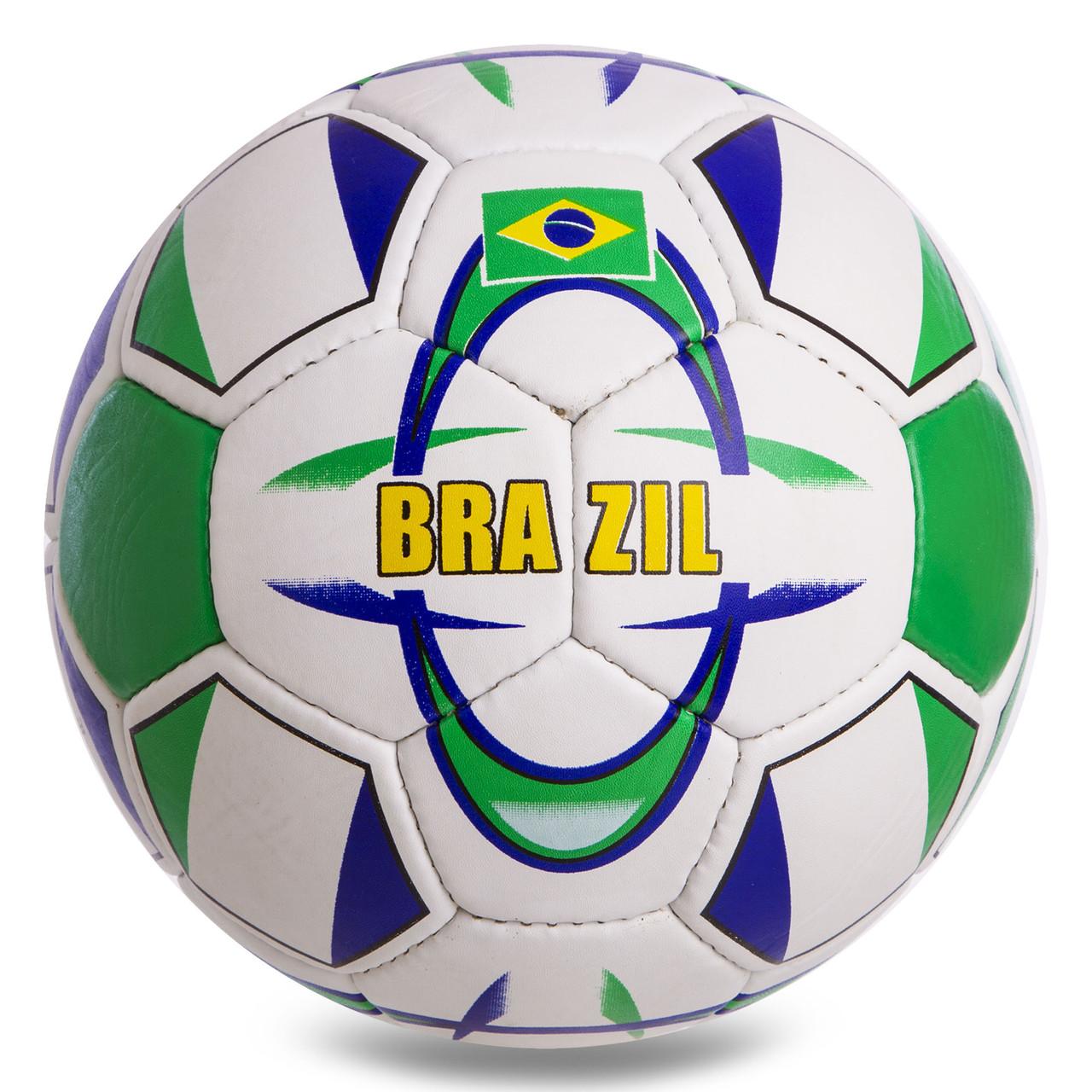 Мяч футбольный №5 Гриппи 5сл. BRAZIL FB-854