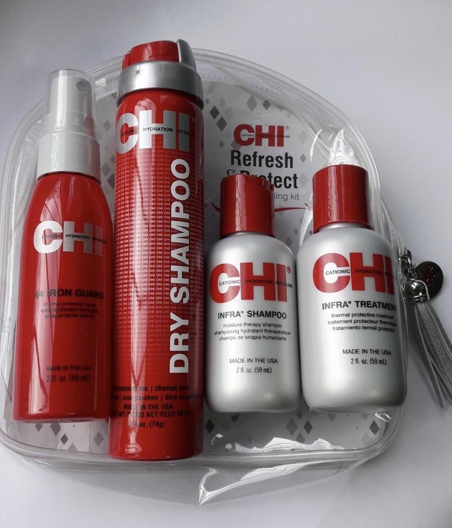 Набор по уходу за волосами CHI INFRA