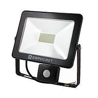 Прожектор з датчиком руху EVROLIGHT EV-30-504-XL 30W 6400К