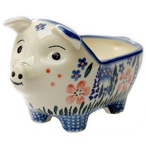 Керамическая форма Свинка для соусов и дипов Весна