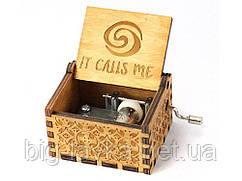 Деревянная музыкальная шкатулка It calls me №10