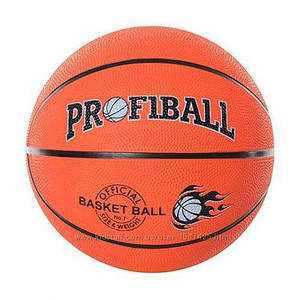Мяч баскетбольный VA-0001-1 размер 6, резина, 550 г