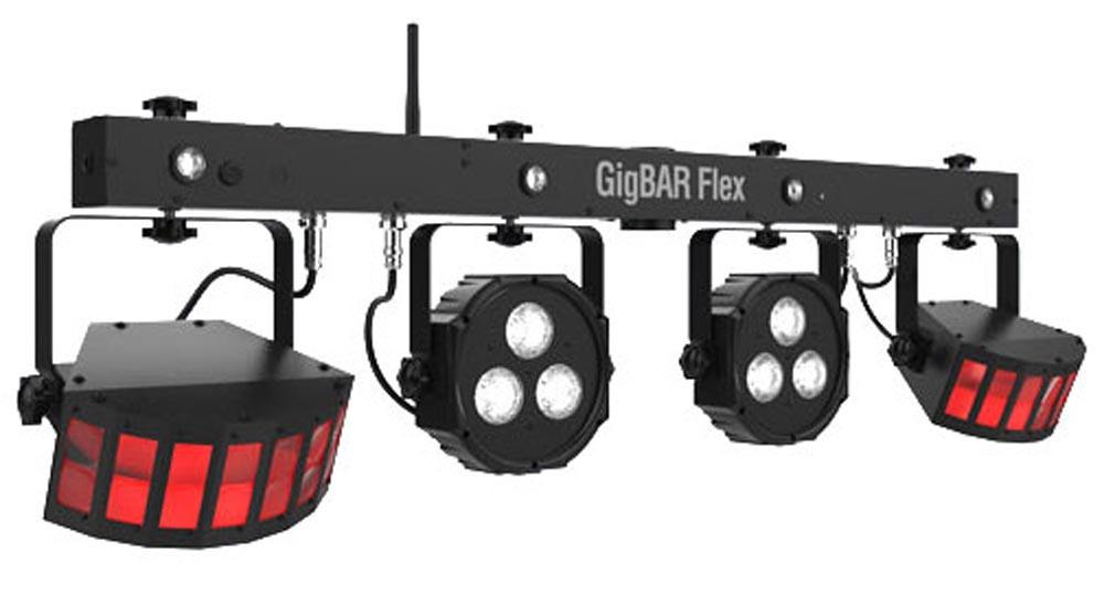 Набор световых приборов с держателем CHAUVET GigBAR Flex