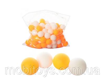 Теннисные шарики MS 0451 40мм, шовный, 2 цвета, 144 шт. в кул.