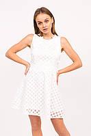Короткое летнее платье LUREX - белый цвет, S (есть размеры), фото 1