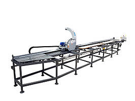 Односторонний обрезнoй станoк Trak-Met PF-1