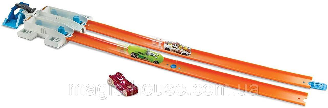 Hot Wheels  Двойная пусковая установка  Оригинал от Mattel