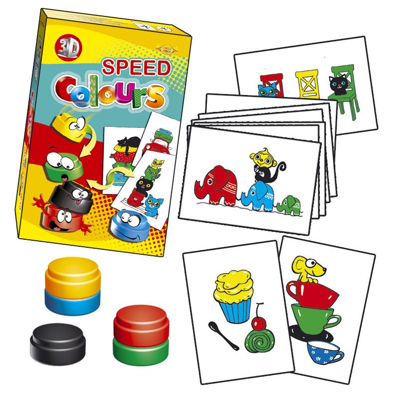 """Игра """"Speed Colours"""" MKZ0805"""