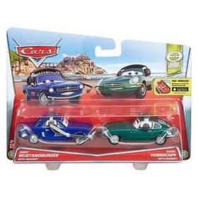 Металлические Mашинки Тачки Cars 2-Pack Brent Mustangburger и David Hobscapp SKL52-241142