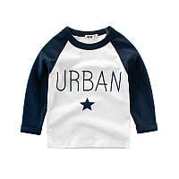 Лонгслив для мальчика Urban, белый 27 KIDS