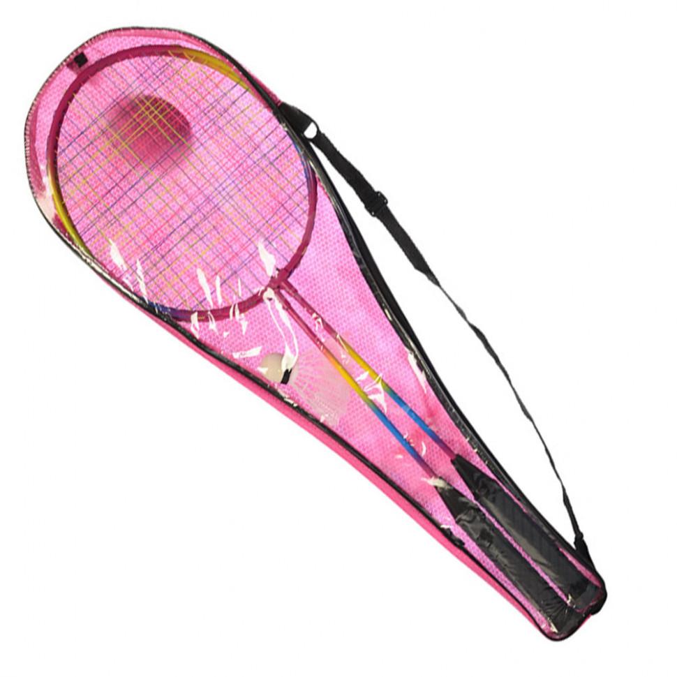 Бадминтон железный MS 0754-1 (Pink)