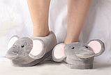 Тапочки Слоники, размер универсальный 35-37, фото 2