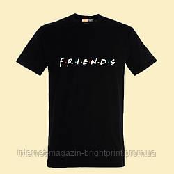 """Чоловіча футболка з принтом """"Friends"""""""