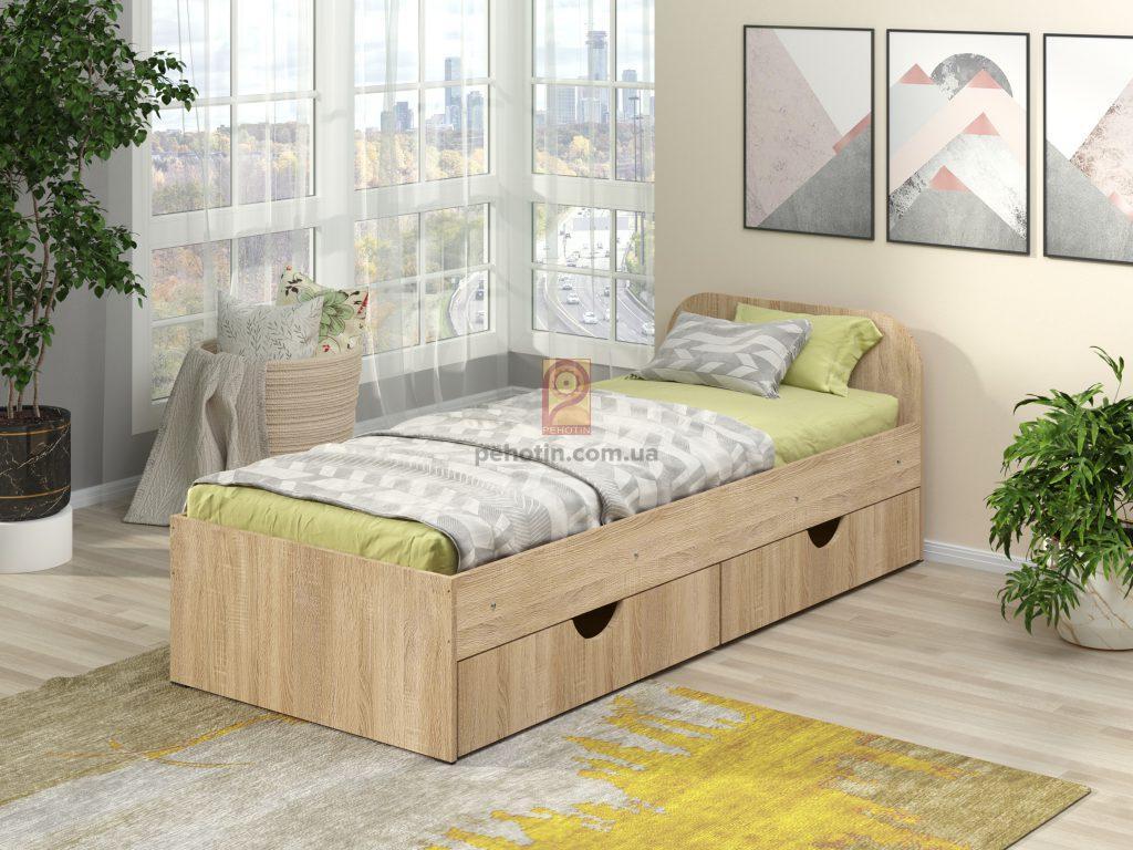 Подростковая кровать Соня-1 с ящиками для белья