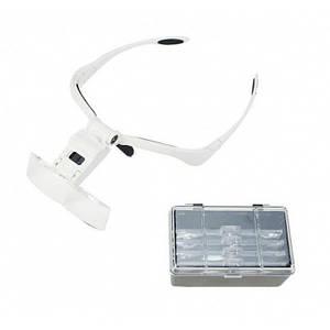 Бинокуляр окуляри бінокулярні зі світлодіодним підсвічуванням 9892BP, (Оригінал)