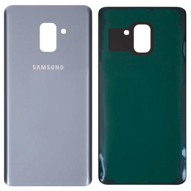 Задняя крышка Samsung A730 Galaxy A8 Plus (2018), Orchid Grey, серо-голубая