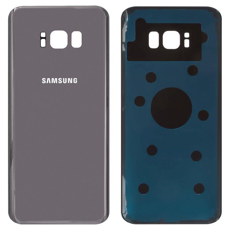 Задняя крышка Samsung G955 Galaxy S8 Plus (2017), Orchid-Gray, фиолетовая