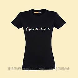 """Жіноча футболка з принтом """"Friends"""""""