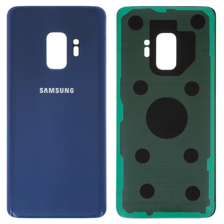 Задняя крышка Samsung G960 Galaxy S9, голубая, Coral-Blue, синяя