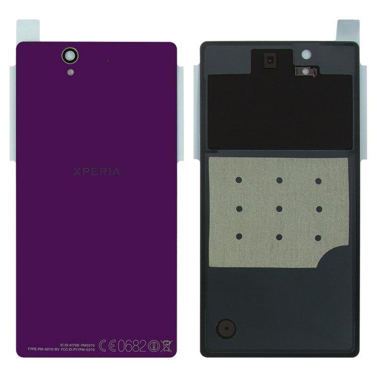 Задняя крышка Sony C6602 Xperia Z C6603 C6606 L36h фиолетовая