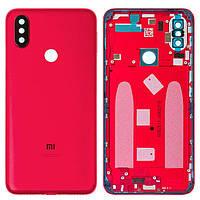 Задняя крышка Xiaomi Mi A2 Mi6x красная оригинал