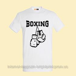 """Чоловіча футболка з принтом """"Boxing"""""""