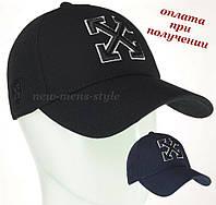 Чоловіча модна молодіжна спортивна кепка бейсболка блайзер Off White, фото 1
