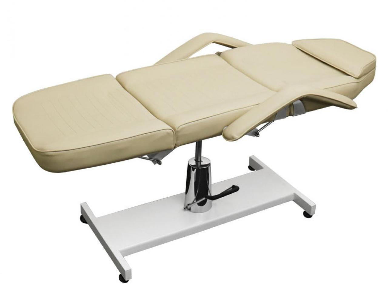 Кресло косметологическое на гидравлике кушетка  стационарная для кабинетов эстетической косметологи BS 210А