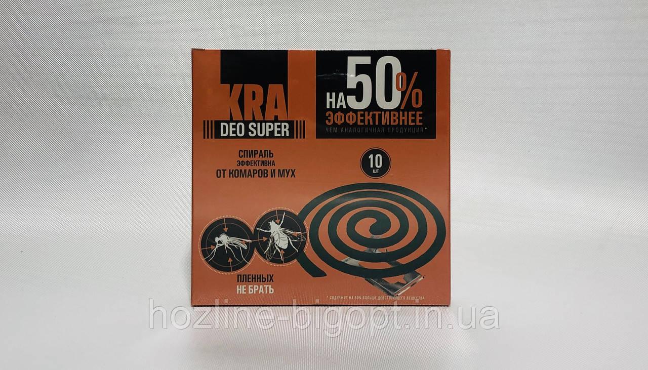 KRA Deo Super Спіралі від комарів та мух 10 шт.