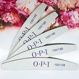 Пилка для нігтів OPI півколо 100/150
