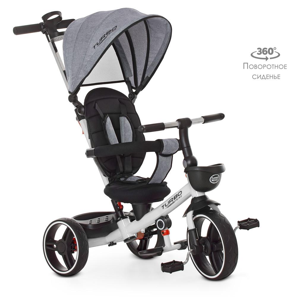 Велосипед трехколесный TurboTrike М 5447PU-19 Гарантия качества Быстрота доставки